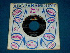 "JOHNNY NASH ""I Lost My Baby"" 45 : ABC-PARAMOUNT 10230 @ Soul Pop 1960s"