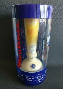 Vintage MOULINEX 2000 MIDNIGHT Cocktail Maker Mixer Shaker + Receipes NEW SEALED