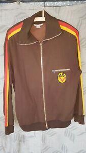 Orginal DDR Offizier  Gr. M 52  NVA Uniform Trainingsanzug  Jacke mit ASV