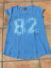 T-Shirt Soccx yoga & Fitness blau Gr. 36 S