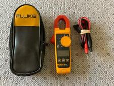Fluke 325 True Rms Clamp Meter 400A 600V w/ Case & Leads (Pre-Owned)