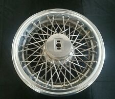 """Vintage 1981 - 1990 Oldsmobile 15"""" 15 Inch Wire Spoke Hubcap Wheelcover"""