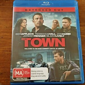 Town Ben Affleck Blu-ray EXTENDED CUT RB Like New! – FREE POST