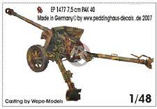 Peddinghaus 1/48 7.5cm PaK 40 L/46 German Anti-tank Gun WWII [Resin Model] 1477