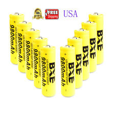 10pcs 9800mAh BRC 3.7v 18650 Rechargeable Li-ion Battery