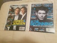 Supernatural Magazine Lot 10 15 Variant with Ackles Cover Padalecki Nice