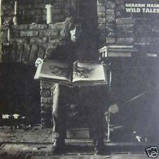 GRAHAM NASH - WILD TALES  atlantic SD 7288  LP 1973 USA