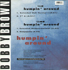 BOBBY BROWN - Humpin' Around - 1992 MCA Uk - MCST 1680