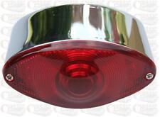 Custom Chrome LED Rear Light Stop Light Tail Light Cat Eye Universal Fitting