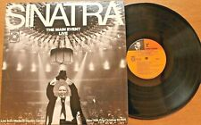 FRANK SINATRA - THE MAIN EVENT: LIVE LP: MADISON SQUARE GARDEN 10/13/74 - VG+
