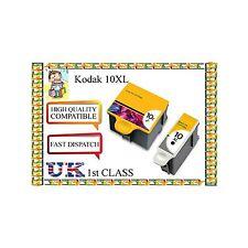 4 Cartuccia di inchiostro compatibili 10b 10c per Kodak non ORIGINALr alta qualità XL dimensioni