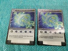 Symmetry Slam x2 Rare Attack Chaotic TCG Unused Code