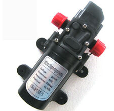 12V micro Pump DC 5L/min 60W Micro Car Diaphragm High pressure small water pump