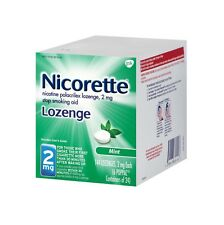 Nicorette Lozenge 2 mg Mint 144 Lozenges