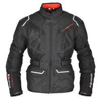 Oxford Mondial 3 in 1 Mens Waterproof Motorcycle Textile Jacket Black - SALE