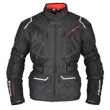 Oxford Mondial 1.0 Men's Long Waterproof Motorcycle Textile Jacket Black - SALE