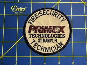 Primex St.Marks Florida Fire/Security Technician Patch
