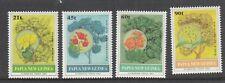 PAPUA NEW GUINEA: 1992 Flowering Trees set of 4 SG 675/8 MUH.