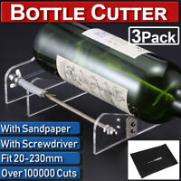20-230mm DIY Wine Beer Glass Bottle Cutter Machine Jar Cutting Tool Craf CL