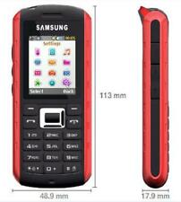 Samsung GT-B2100 Solid Extreme Modern Black /Red Unlocked GSM Cell Phone