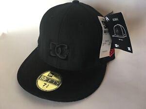 DC Shoes New Era Core Hat 20/94 Valcano Leather Super Suede Black  7 3/8