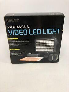 Bower Professional Video LED Light VL20K NEW NIB