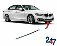 FRONT BUMPER LOWER BLACK TRIM COMPATIBLE WITH BMW 3 SERIES SPORT LINE F30 11-15