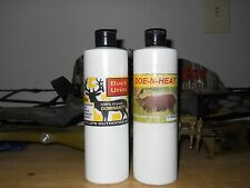 Buck Lure SCENT DRIPPER refills, 18oz.Doe-n-Heat & 18oz. Dominant Buck Urine
