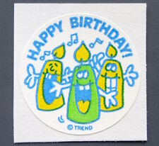 Vintage TREND Stinky Stickers PARTY TIME matte Scratch-N-Sniff sticker