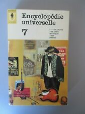 Encyclopedie Universelle 7 (Marabout Université 1963)