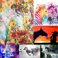 Dragon&Horse Full Drill 5D Diamond Embroidery Painting Cross Stitch Mural New
