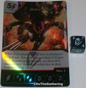 X-23 Lames De Rage 120 Deadpool Dé Masters Super Rare Aluminium