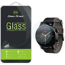 2x Dmax Armor Tempered Glass Screen Protector for Motorola Moto 360 (2020)