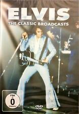 ELVIS PRESLEY THE CLASSIC BROADCASTS DVD NEW AND SEALED LIVE