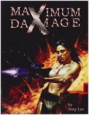 Extreme Vengeance: Maximum Damage - Modern Rpg Sourcebook - Very Fine Condition!