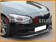 P Style Carbon Front Bumper Lip For 12-14 BMW F20 F21 M Sport 118i 120i 128i
