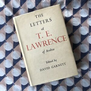 1938 Letters of TE Lawrence ed. David Garnett 16 Plates 4 Maps DJ 1st Ed/2nd Imp