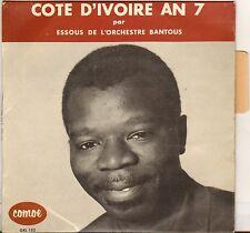 """RARE ESSOUS """"COTE D'IVOIRE AN 7"""" AFRO LATIN JAZZ 60'S EP BANTOUS BOOGALOO !"""