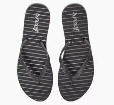 8f6e55a7155179 Reef Women s Stargazer Prints Sandal Black Stripes 6 M US