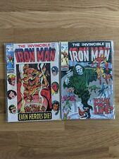 Invincible Iron Man #18 & 19 (1969) Marvel - 2 comics