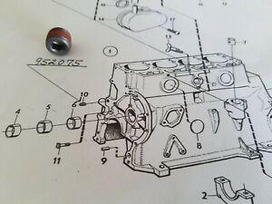 Volvo B18 - B20 122S, 142, 144, 145, 544,,P1800's, Engine Block Oil Galley Plug