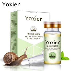 Yoxier Serum Face Anti-Aging Snails Hyaluronic Acid Six Peptide Concentrate Face