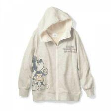 Disney Topolino Donna collo Alto Zip Felpa con Cappuccio Foderato Boa Giappone