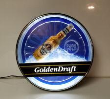 Michelob Golden Draft light sign Man Cave Bar liquor beer Man Cave