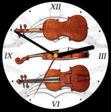 Violin Cd Orologio, supporto libero può essere personalizzato