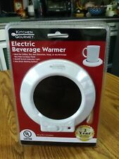 New! Kitchen Gourmet ~ Electric Beverage Warmer ~ Coffee! Tea! Soup! Cocoa!