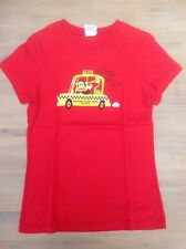 Paul Frank Red 'Taxi' T-Shirt Top, Size S (Approx. 10-11 Years)