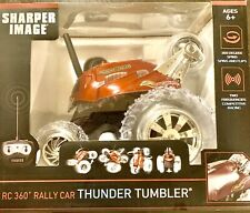 Sharper Image RC 360 Rally Car Thunder Tumbler Remote Control (Red) Brand New