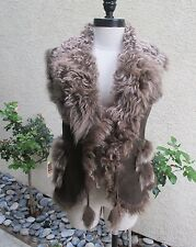 ABSOLUTELY BEAUTIFUL WOMENS FRENCH LAMB VEST - MUST SEE!