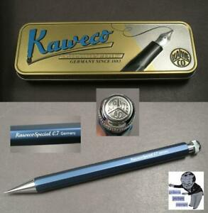 Kaweco Special Blue Edition Pencil Aluminium IN Blue 0 1/32in Mine